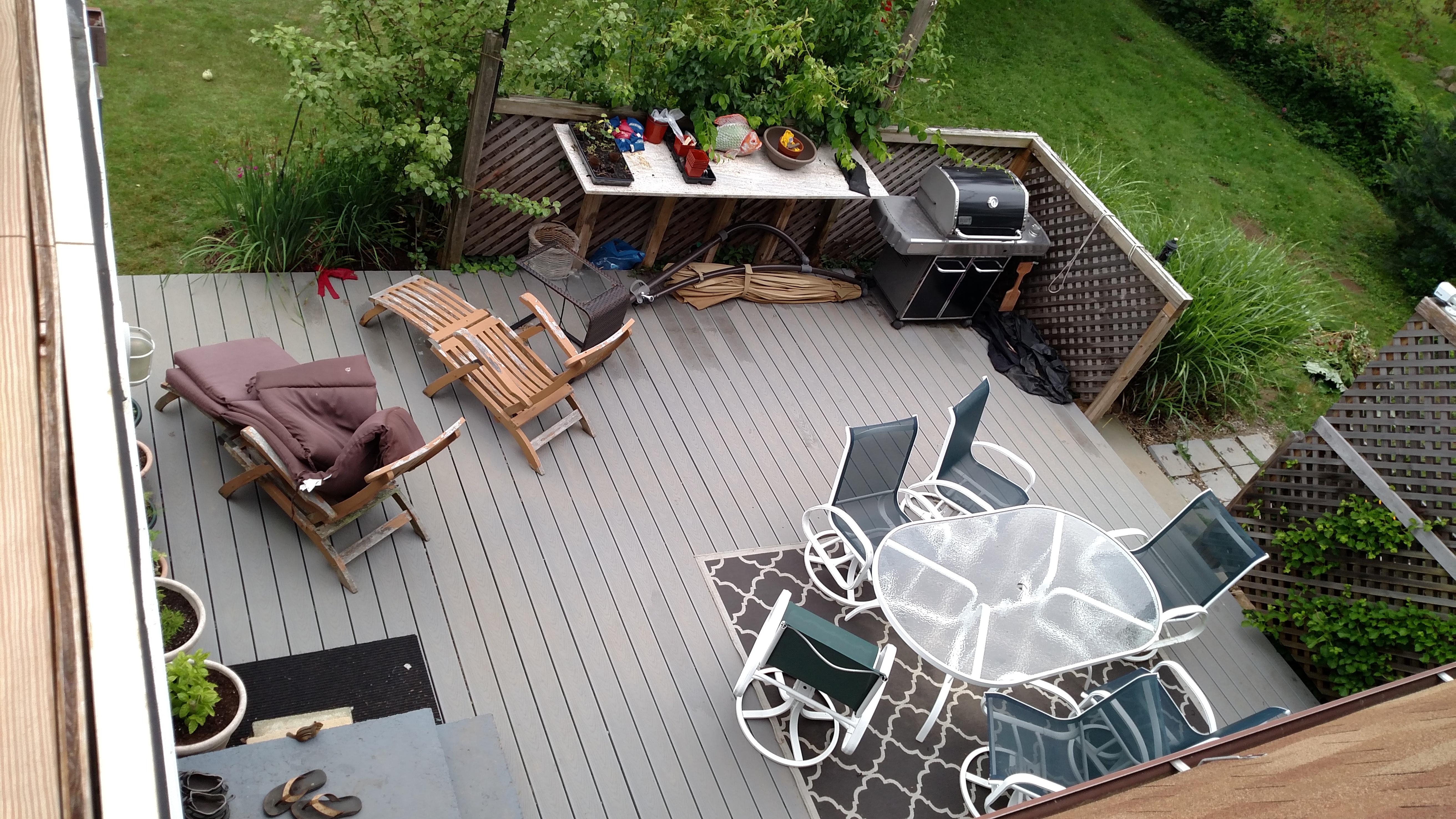 The final deck.